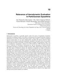 10 Relevance of Aerodynamic Evaluation in Parkinsonian Dysarthria