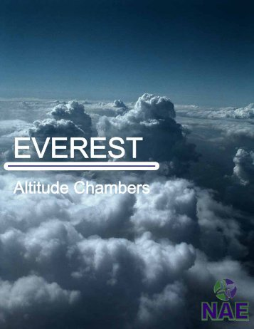 EVEREST – Altitude Chambers - Physical test solutions