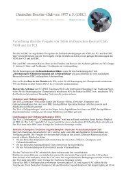 Verordnung über die Vergabe von Titeln im Deutschen-Bouvier ...