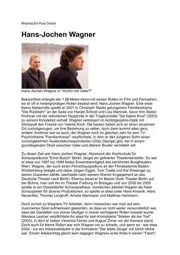 Hans-Jochen Wagner - Sandra Paule PR-Management