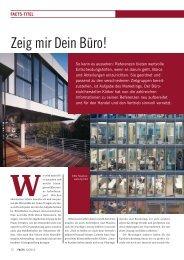 Titel: Zeig mir Dein Büro! - FACTS Verlag GmbH