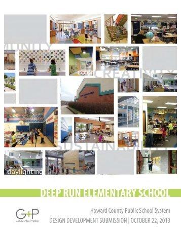 DEEP RUN ELEMENTARY SCHOOL - Howard County Public Schools