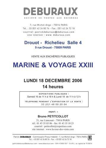 MARINE & VOYAGE XXIII - Rose des Vents