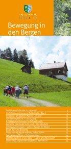 Sommer - Herbst Programm 2013 - Biosphärenpark Großes Walsertal - Page 6