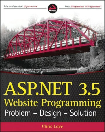 ASP.NET 3.5 Website Programming Problem-Design ... - sunsorady