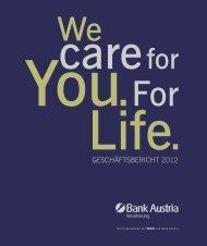GESCHÄFTSBERICHT 2012 - ERGO Versicherung Aktiengesellschaft