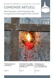 GEMEINDE AKTUELL - Kirche-graefrath.de