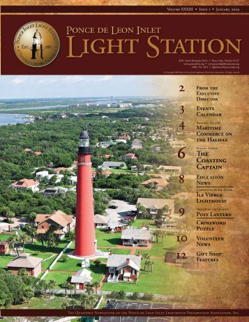 Issue 1 Jan, 2009 - Ponce de Leon Inlet Lighthouse