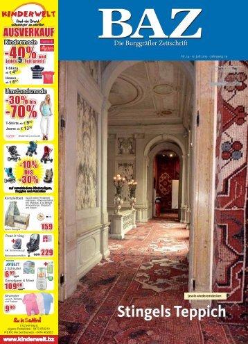 Diese Ausgabe als PDF speichern - BAZ - Die Burggräfler Zeitschrift