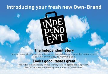 Download your guide to Independent here - Palmer and Harvey