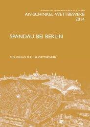 Auslobung 2014 - Architekten- und Ingenieur-Verein zu Berlin eV