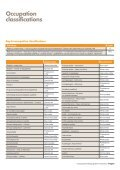 Occupational ratings guide for insurance - MLC - Page 5
