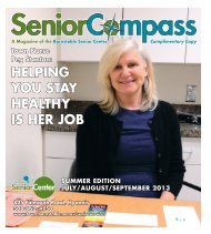 Senior Compass - Town of Barnstable