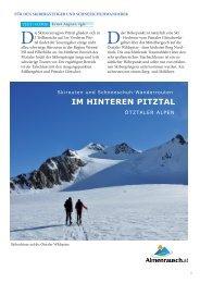 IM HINTEREN PITZTAL - Almenrausch
