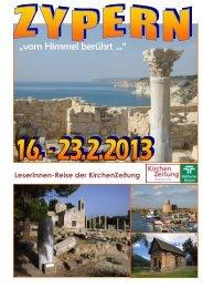 KiZ-LeserInnen-Reise - KirchenZeitung