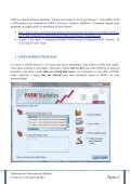 Breve Manual do SPSS / PASW 18.0 - ESAC - Page 4