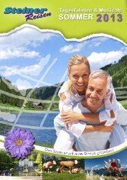 Download: 659Sommerfahrten_2013.pdf - Reisedienst Steiner GmbH