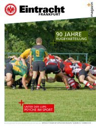 90 JahrE - Eintracht Frankfurt e.V.