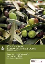 l'olio pisano extravergine di oliva - Camera di Commercio di Pisa