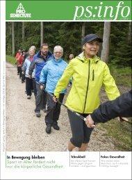 In Bewegung bleiben Sport im Alter fördert nicht nur die körperliche ...