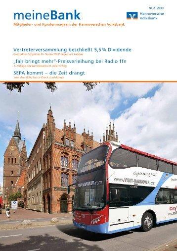 Hannoversche Volksbank eG - Meine Bank vor Ort