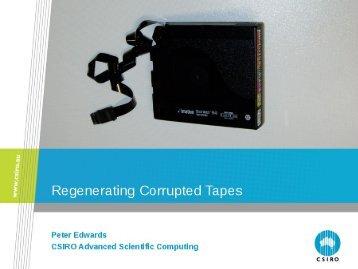 Presentations - CSIRO - Advanced Scientific Computing