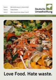 Newsletter 09/13 - Deutsche Umweltstiftung