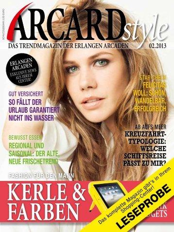 ARCARDstyle-Leseprobe - Erlangen Arcaden