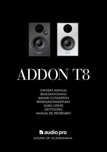 ADDON T8 - Audio Pro