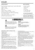ADDON T8 - Audio Pro - Page 3