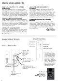 ADDON T8 - Audio Pro - Page 4