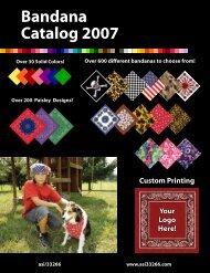 Bandana Catalog 2007 - ASI33266.com