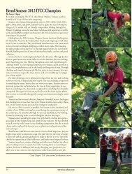 Bernd Strasser: 2012 ITCC Champion - International Tree Climbing ...