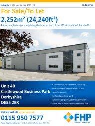 Log Castlewood Unit 4b - Invest in Nottingham