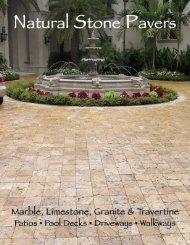 natural stone pavers brochure