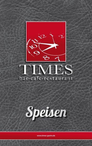 Speisekarte als PDF. - Times
