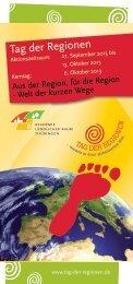 Tag der Regionen - Akademie Ländlicher Raum Thüringen