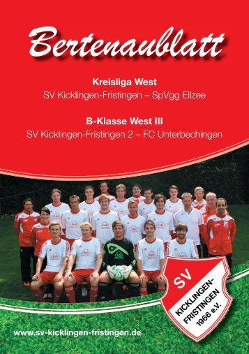 FC Unterbechingen - sv-kicklingen-fristingen
