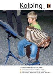 Schwyzerörgeli-Klänge für Europa 4 - Kolping Schweiz