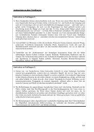 Antworten zu den Testfragen - Examen Europaeum