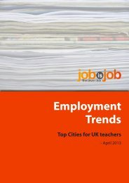 download the teacher hiring trends PDF - JobisJob