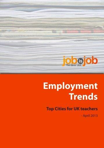 download the teacher hiring trends PDF - JobisJob