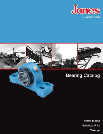 Jones Bearing Catalog - Jamieson Equipment Co.
