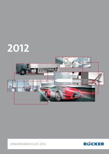 konzernabschluss 2012 - ATON Engineering AG