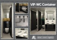 VIP-WC Container - Ebner event logistics GmbH