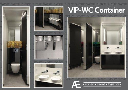 VIP-WC Container - Ebner event logistics GmbH