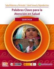 Palabras clave para la atención en salud - Quechua de ... - UNFPA