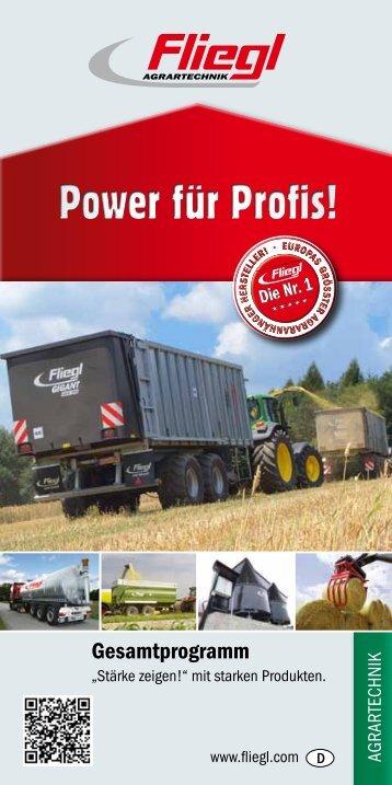 Power für Profis! - Fliegl Agrartechnik