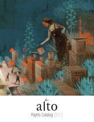 Rights Catalog 2013 - Éditions Alto