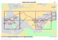 Verlauf der Linie 635